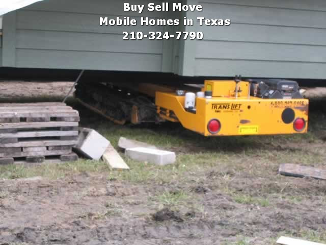 Rent A Translift Machine To Help Move A Mobile Home